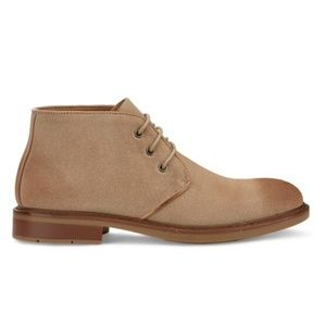 Men's Chukka Lace Up Ankle Boot in Taupe NEW 7.5